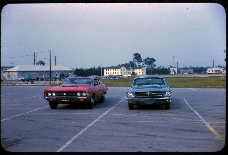 Summer 1970-Dave Chamberlain & Mike Gabrielski's Cars