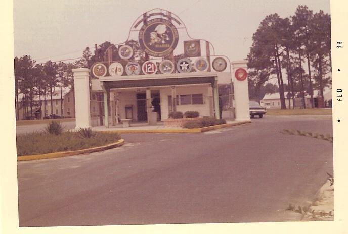CBC Gulfport Main Gate 1969