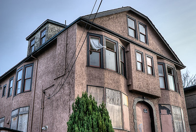 """Abandoned Apartment Building - Victoria, BC, Canada Visit our blog """"No Rooms For Rent"""" for the story behind the photo."""