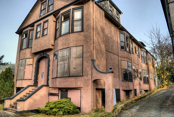 Abandoned Apartment Building - Victoria, BC, Canada