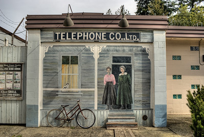 "Telephone Co. Ltd. - Chemainus BC Canada Please visit our blog ""No Answer At The Switchboard"" for the story behind the photo."
