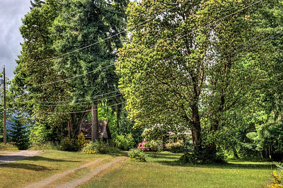"""Meandering Driveway - Saltair BC Canada Visit our blog """"Falling Down But Not Forgotten"""" for the story behind the photo."""