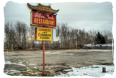 """Silver Park Restaurant - Duncan BC Canada Visit our blog """"Born In A Barn"""" for the story behind the photo."""