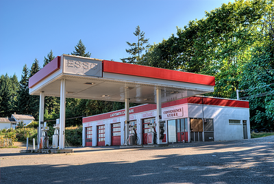 """Ladysmith Car Care (ESSO) - Ladysmith BC Canada Visit our blog """"Fill 'R Up!!"""" for the story behind the photos."""