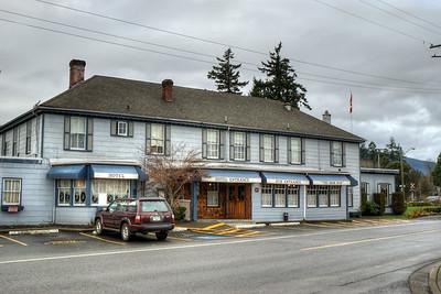 Old Hotel & Pub - Chemainus, BC, Canada