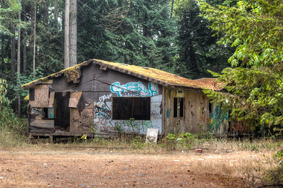 Abandoned House - Vancouver Island, British Columbia, Canada