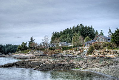 "Oceanfront Home - Vancouver Island BC Canada Visit our blog ""Toads Back On Shore"" for the story behind the photo."