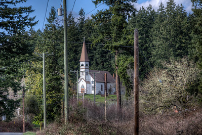 St Ann's Church - Cowichan Valley, Vancouver Island, British Columbia, Canada