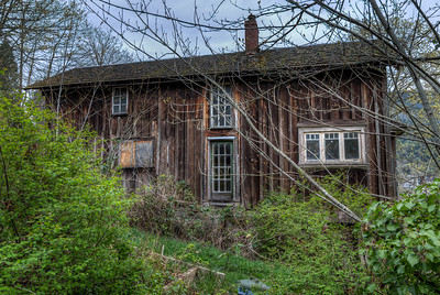 Weathered Wood Home - Cowichan Valley, Vancouver Island, British Columbia, Canada