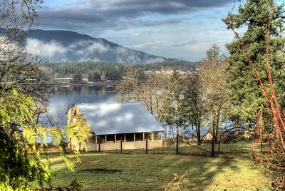 Old Barn - Lake Quamichan, BC, Canada