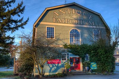 The Antique Emporium - Chemainus, Vancouver Island, British Columbia, Canada