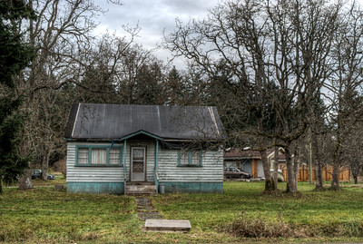 Old Home, Vancouver Island, BC, Canada