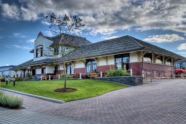 Nanaimo E&N Railway Station - Nanaimo, BC, Canada