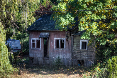 Old Home - Cowichan Bay, Vancouver Island, British Columbia, Canada