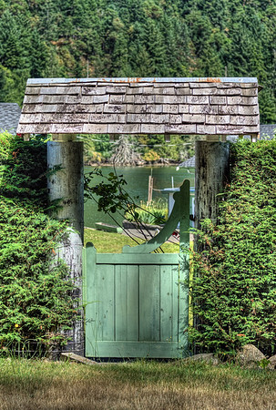 Gate - Cowichan Valley, BC, Canada