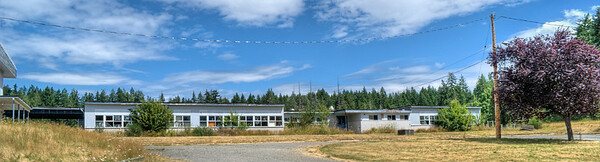 Abandoned School - Port Alberni, BC, Canada