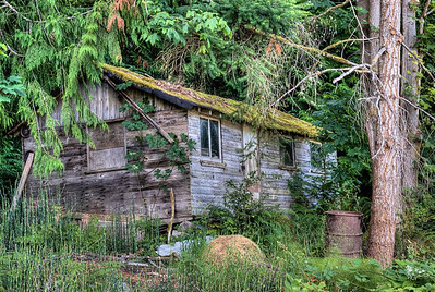 """Abandoned House - Cowichan Valley, BC, Canada Visit our blog """"Gnome Home"""" for the story behind the photo."""
