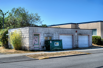 """Garage - Nanaimo BC Canada Visit our blog """"Island Garages"""" for the story behind the photos."""