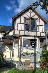 """Higgledy-Piggledy House - Victoria, BC, Canada Visit our blog """"Ian's Coffee Stop"""" for the story behind the photo."""