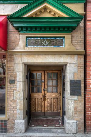 Ashlar Masonic Lodge No.3 - Nanaimo, Vancouver Island, British Columbia, Canada
