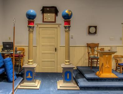 Temple Lodge No.33 - Duncan, Cowichan Valley, Vancouver Island, British Columbia, Canada