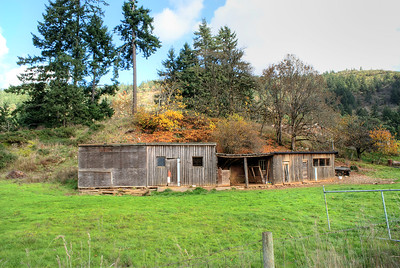 Old Farm, Western Communities, Vancouver Island, BC, Canada