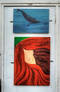 Whale by Maria Maya | Untitled by Monica Maya