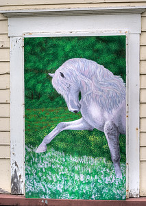 Lavender Horse by Emma Woodland