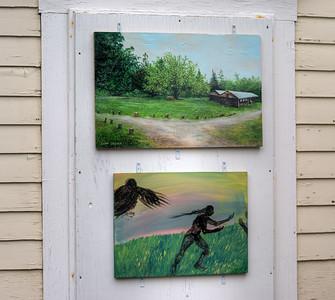 Camp Creina by Dana Wood | Raven Play by Joanne Circle