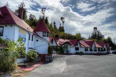 "Sooke River Hotel and Castle - Sooke, BC, Canada Visit our blog ""Sooke River Hotel and Castle"" for the story behind the photo."