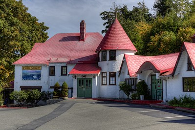 """Sooke River Hotel and Castle - Sooke, BC, Canada Visit our blog """"Sooke River Hotel and Castle"""" for the story behind the photo."""