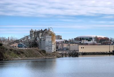 Industrial Complex / Memorial Arena - Victoria BC Canada