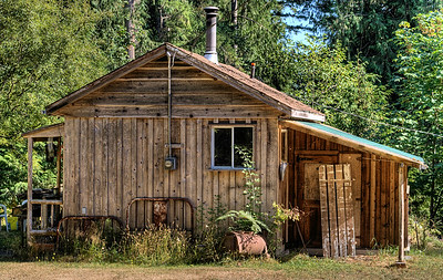 "Old Cabin - Cowichan Valley, Vancouver Island, BC, Canada Visit our blog ""The Settler's Cabin"" for the story behind the photos."