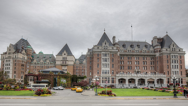 The Empress Hotel - Victoria, Vancouver Island, British Columbia, Canada