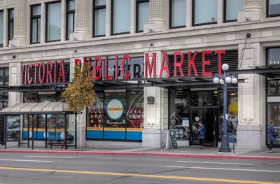 Victoria Public Market - Victoria, Vancouver Island, British Columbia, Canada