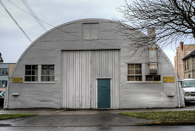 Old Wartime Building - Victoria BC Canada