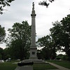 This monument commemorates the Battle of Red Bank in National Park, NJ, in which Greene was the victorious commander.
