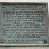Plaques on the Red Bank monument mention Greene