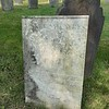 Eleazar's stone may have been flat on the ground at one time, as Findagrave had a photo of his wife's, but not his. On  my visit in Fall 2020, it was upright, and leaning against his wife's. I added the photos to findagrave.