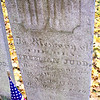 """Photo is from Mark Sullivan's excellent article in Journal of the American Revolution entitled """"The Lost Journal of Private Freeman Judd"""" 2018.  The grave is said to be located """"near the southwest corner of the cemetery and can be easily found, having a fair sized headstone giving his name"""" (from an account written by his grandson A.B. Judd in the newspaper Union Sun Jan. 30, 1904.)"""