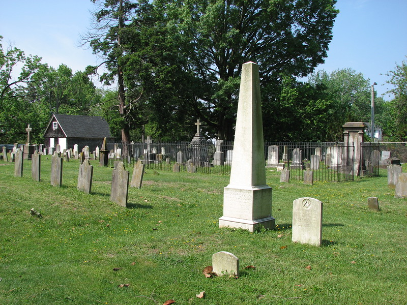 Use this photo to help locate the grave. Coats' monument is the tall white obelisk.