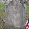 "Thayer's gravestone. The inscription was transcribed into Edward Martin Stone's 1867 book ""The Invasion of Canada in 1775"" in Appendix Note R, and is given below:<br /> <br /> ""Here rests the body of Simeon Thayer, who died Oct. 21, 1800, in the 63d year of his age; Warmly attached to his Country, he early engaged in the war, which led to her independence; a Prisoner on the Plains of Abraham; wounded in the battle of Monmouth, he suffered with cheerfulness for the cause he had embraced; nor did his Patriotism transcend his intrepidity. In the defense of Mud Island, he became illustrious by the prudence of his measures and the coolness of his courage, which could only be the offspring of a head unclouded, when the shades of death were gathering around him and a heart unappalled by the vision of his terrors to consummate his military fame. He was distinguished by the approbation of Washington, who knew that Major Thayer was a soldier indeed in whom there was no fear, and as a proof of the esteem of his fellow citizens he was chosen General of the Militia as a testimony of filial reverence."""