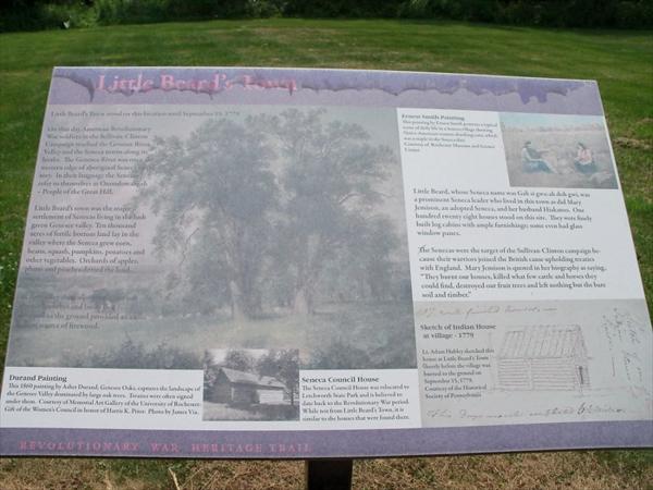 "Interpretive panel at ""Torture Tree"" (click for larger version)<br /> As seen on waymarking.com"