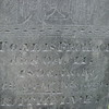 Top part of the engraving, mentioning Thomas