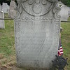 Gravestone of her second husband, locate just to the right of hers.