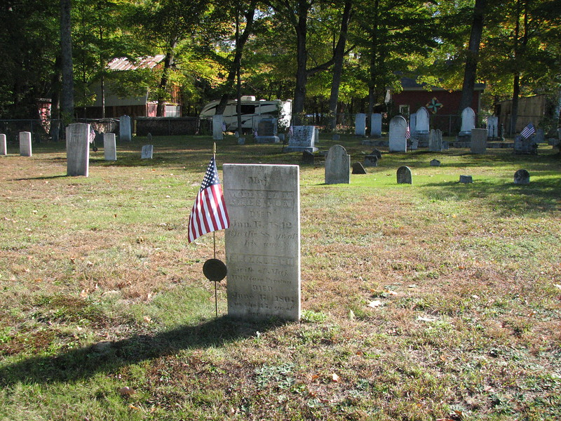 Grave of William Preston