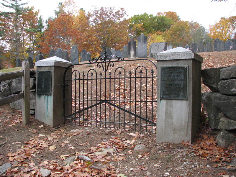 Entrance of the cemetery