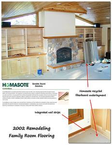 2002 Family Room flooring details