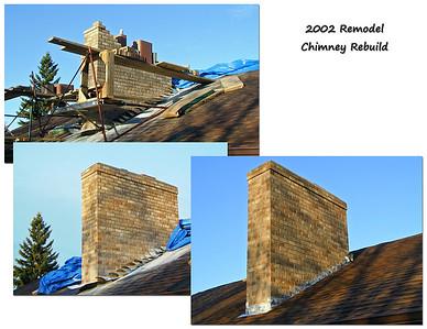 2002 Chimney rebuilding