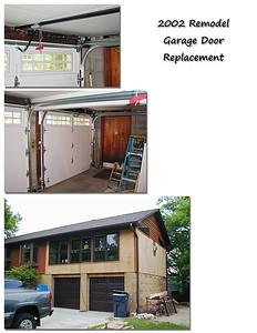 2002 Garage Door Replacement